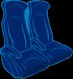 Medicated seat